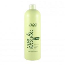 Kapous. Шампунь для волос с маслами Авокадо и Оливы